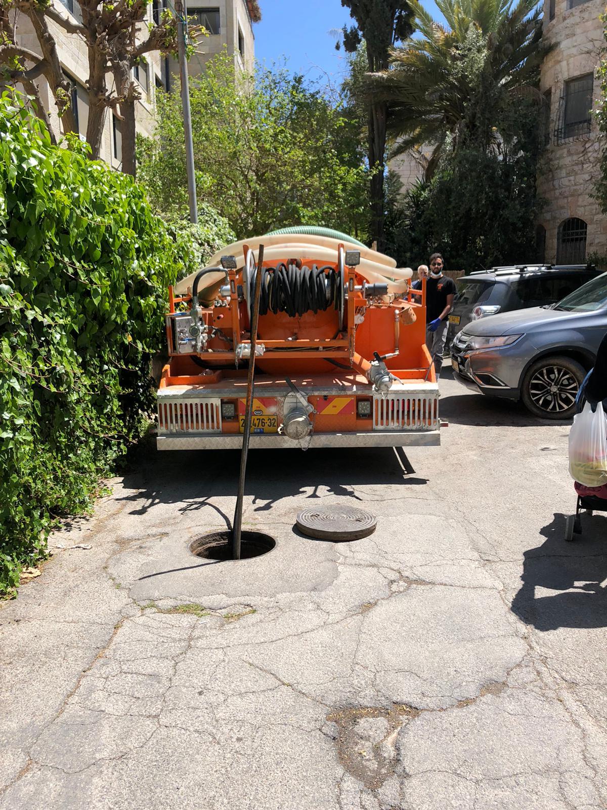 פתיחת סתימה בבניין מגורים משותף בשכונת ארנונה ירושלים.