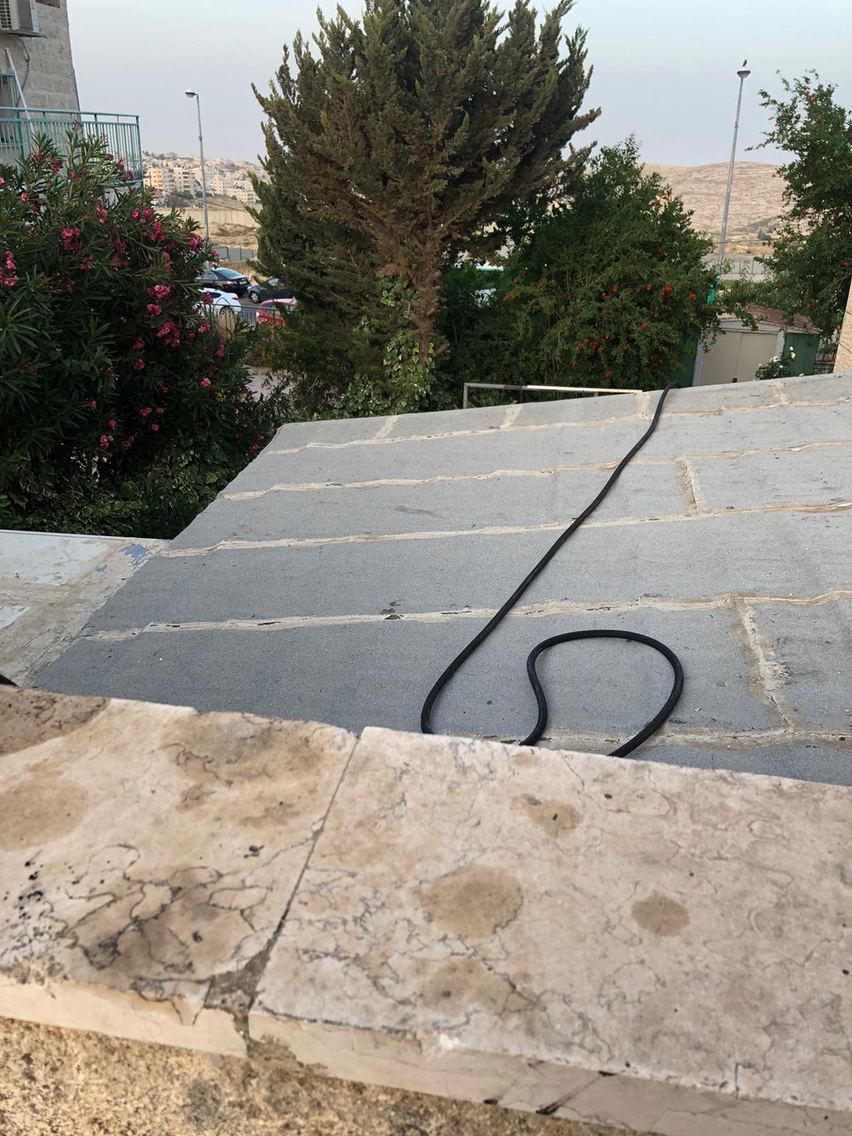 פתיחת סתימה ללקוח פרטי בשכונת פסגת זאב בירושלים.